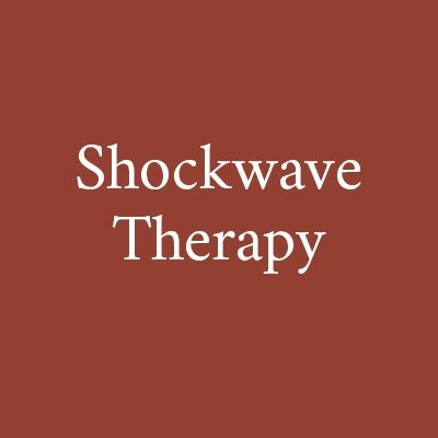 Shockwave therapy now available at Glencairn House.