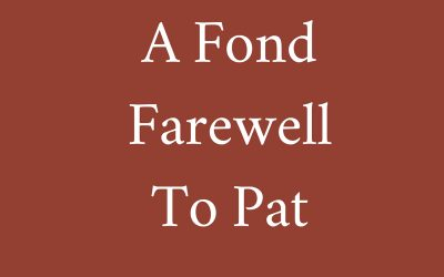 A Fond Farewell