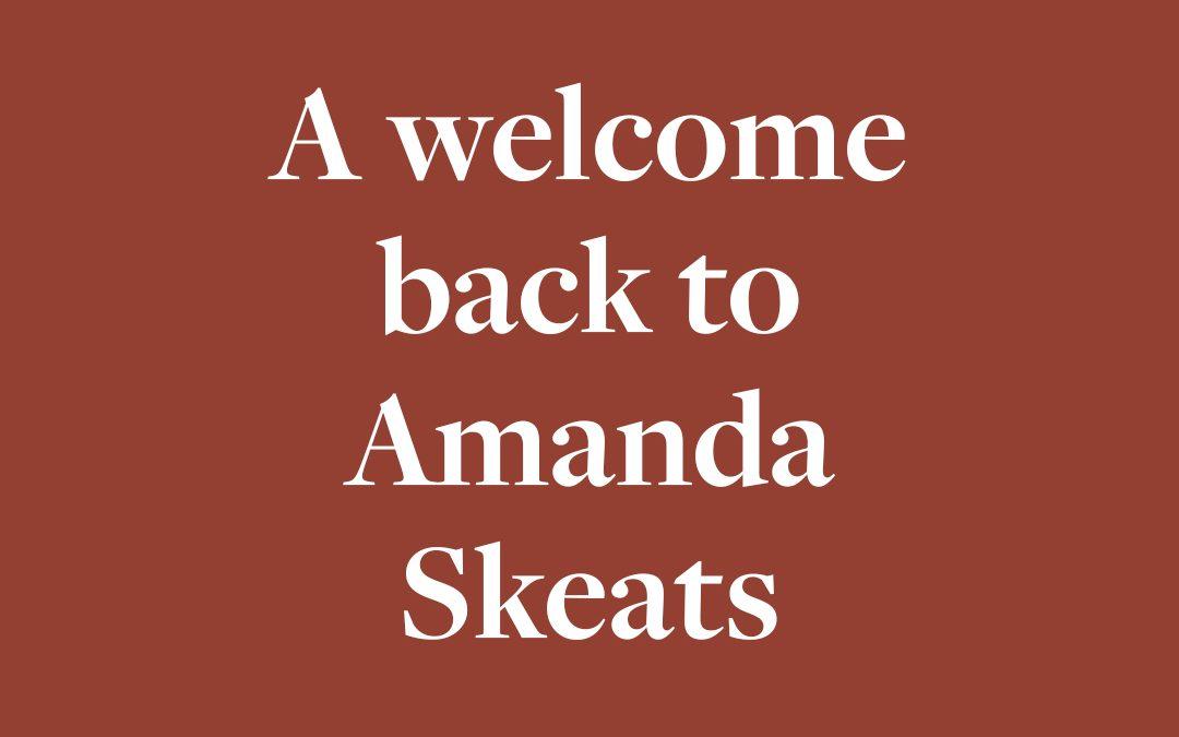 Amanda Returns